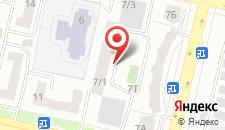 Апартаменты Грация на карте