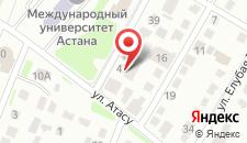 Отель Эфенди на карте