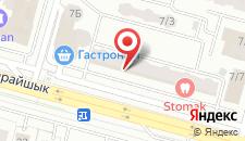 Апартаменты Лазурный Квартал Белая на карте