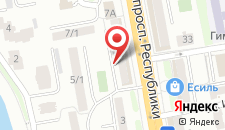 Апартаменты На Республики 7/2 на карте