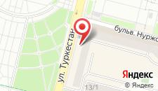 Апартаменты Нурсая на карте
