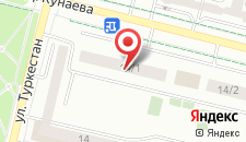 Апартаменты Нурсая I на карте