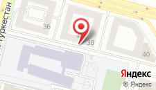 Отель Байтерек на карте