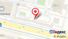 Апартаменты на Кунаева 35 на карте