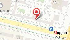 Апартаменты на Кунаева 35/1 на карте