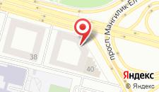 Отель Байтерек Премиум на карте