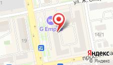 Гостиница G Empire на карте
