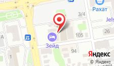 Отель Zeid на карте
