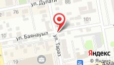 Апартаменты Астана на карте