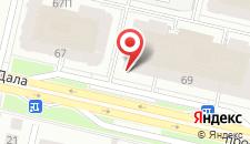 Апартаменты На Левом Берегу на карте