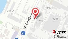 Отель Сарыарка на карте
