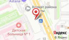Отель Daniyar на карте