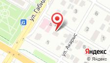 Отель Алтын на карте