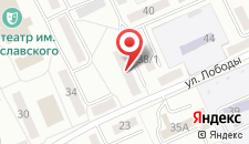 Апартаменты Richhouse на Лободы, 28 на карте