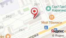 Апартаменты На Абдирова 26 на карте