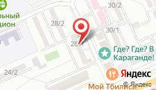 Апартаменты На проспекте Абдирова на карте