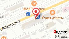 Апартаменты На Абдаирова 15 на карте
