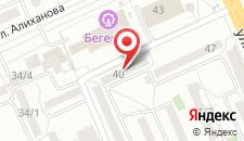 Апартаменты РичХаус на Алиханова 40 на карте