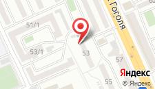 Апартаменты Богатый дом на Гоголя 53 на карте