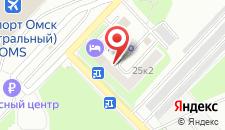 Гостиница Аэро на карте