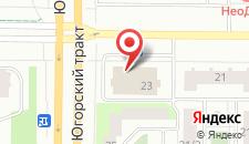 Гостиница ORION на карте