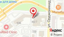 Мини-отель Сова на карте