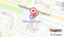 Гостиница Метрополис на карте