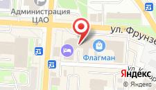 Отель Флагман на карте