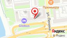 Отель и хостел GLOBUS на карте