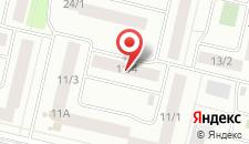 Мини-отель Сибирь на карте