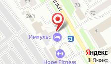 Гостиница Импульс на карте