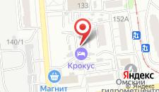 Гостиница Крокус на карте