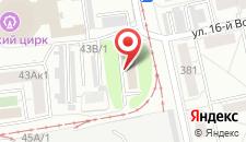 Гостиница Огни манежа на карте