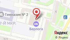 Гостиница Берлога на карте
