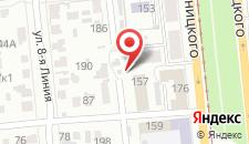 Гостиница Ля Мезон на карте
