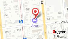Хостел Агат на карте