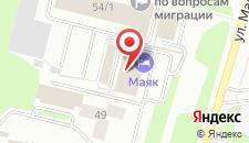 Отель Маяк на карте