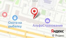 Гостиница Венеция на карте