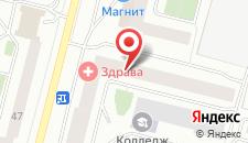 Гостиница Новотех на карте