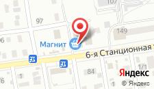 Гостиница Мираж на карте