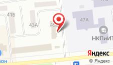 Гостиница Ханто на карте
