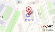 Отель Таланга на карте