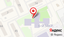 Отель Берлога на карте