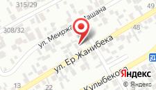Апартаменты Maxat`s на карте