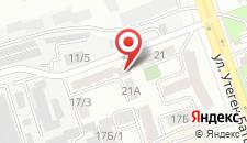Апартаменты Утеген Батыра 21 на карте