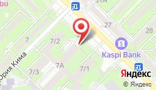 Отель Тан-Шолпан на карте