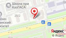 Апартаменты На Торайгырова 19а на карте