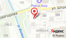 Апартаменты АренА Каблукова 38г, этаж 8 на карте