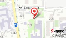 Апартаменты Каблукова 38г на карте