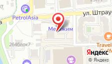 Апартаменты АренА Каблукова 38г на карте